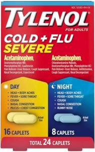 Illustration of Fever At Night Accompanied By Whole Body Aches And Coughing?