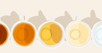 Illustration of Pee A Little And The Urine Changes To An Orange Color?