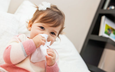 Illustration of Should Adults Not Be Close To Babies During Colds, Coughs And Fevers?