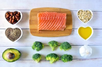 Illustration of Good Food To Eat For People With Cholesterol And Typhus?