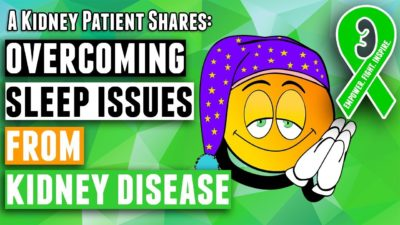 Illustration of Overcoming Insomnia For People With Stage 4 Kidney Failure?
