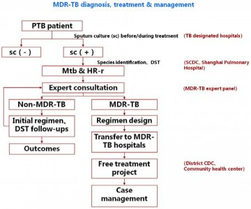 Illustration of Treatment For MDR TB?