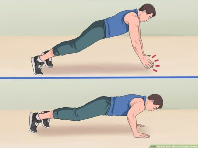 Illustration of Do Pushups Using A Chair Can Enlarge The Arm Muscles?