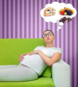 Illustration of Heartburn And Nausea During Early Pregnancy When Fasting?
