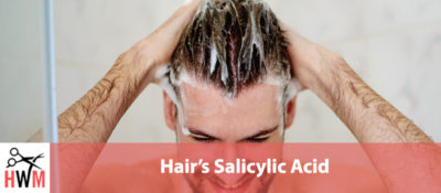 Illustration of Salicylic Acid Side Effects On The Hair Or Scalp?