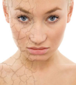 Illustration of Solutions For Skin Damage Caused By Cosmetics?