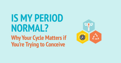 Illustration of Regular Menstruation But The Results Of The Examination Indicated That The Eggs Were Small?