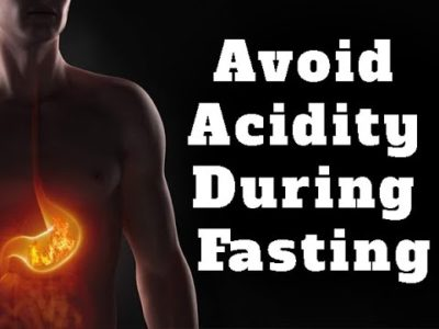 Illustration of Tips On Fasting For Heartburn Sufferers?