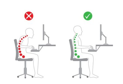 Illustration of Pain In The Coccyx When Sitting?