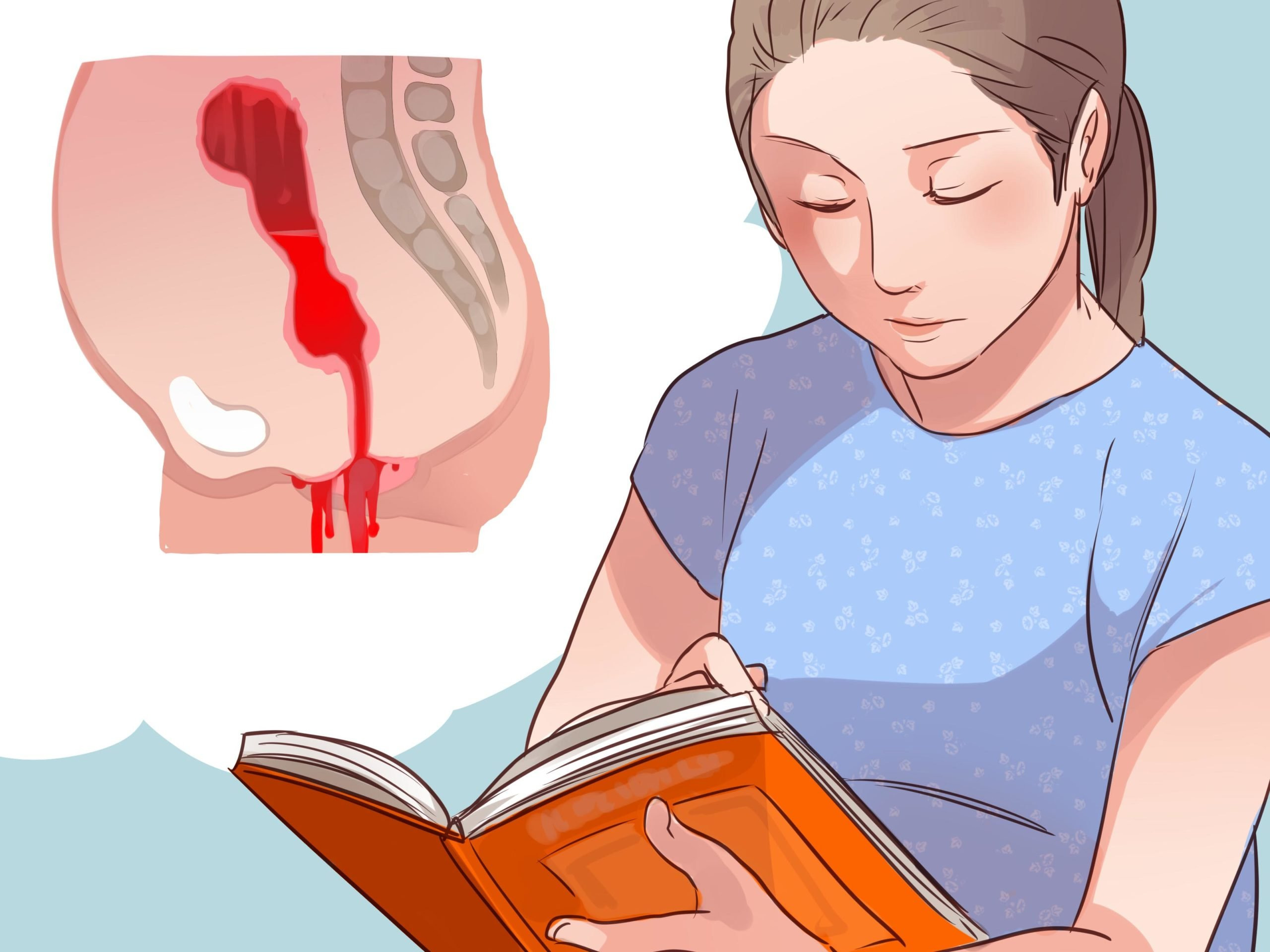 Bleeding Like Menstruation On Day 35 Postpartum?