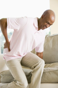Illustration of Lower Back Pain Following A History Of Falls?