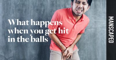 Illustration of Pain In The Genitals After Hitting The Ball?