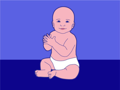 Illustration of The Dangers Of Sitting A Baby At 3 Months Of Age?