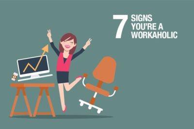 Illustration of How To Not Become A Workaholic?