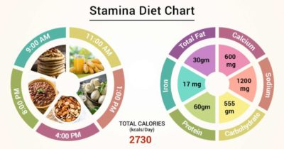 Illustration of Food And Drink To Maintain Stamina?