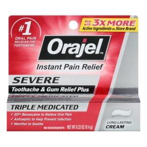 Illustration of Medication To Reduce Pain During Ulcer Patient Toothache?
