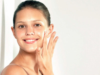 Illustration of Facial Skin Is Damaged Due To The Use Of Cosmetics?