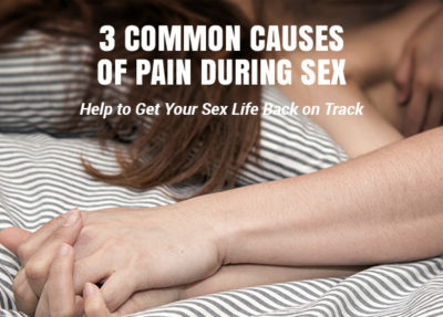 Illustration of How To Deal With Pain During Sex?