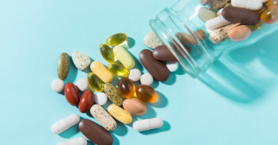 Illustration of Side Effects Of Consuming Supplements Containing Vitamins And Minerals?