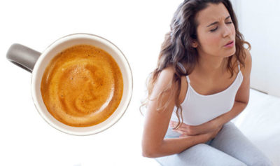 Illustration of Can Consuming Excess Coffee Cause Stomach Ulcers?