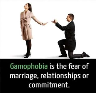 Illustration of Fear Of Marriage Commitments, Am I Gamophobic?
