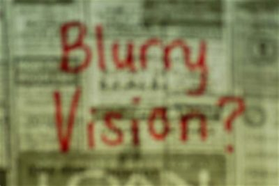 Illustration of Suddenly Blurry Vision?