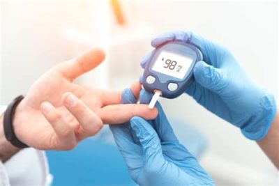 Illustration of Checking Blood Sugar Levels In The Laboratory?
