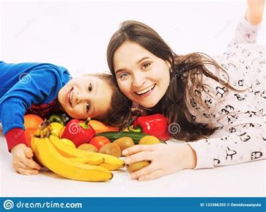 Illustration of Consuming Fruit And Vegetable Salad In Nursing Mothers?