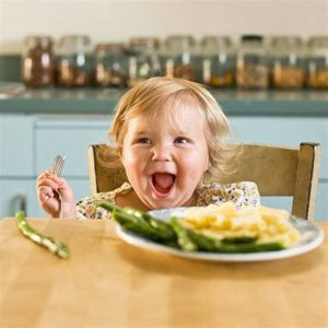 Illustration of 3 Year Old Child Doesn't Want To Eat Rice?
