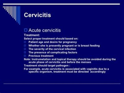 Illustration of Treatment Of Cervicitis Before The Program Of Pregnancy?
