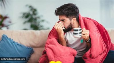 Illustration of Taking Cold And Cough Medicine At The Same Time?