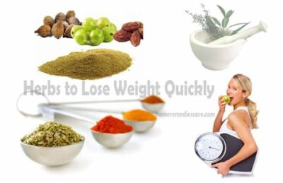 Illustration of Lose Weight With Herbs?