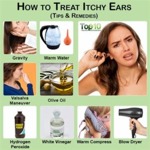 Illustration of Treatment For Itchy And Swollen Ears?