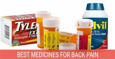 Illustration of What Is Back Pain Medicine?