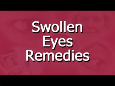 Illustration of Treatment Of Eye Pain Until Swelling And Discharge Continuously?