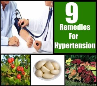 Illustration of Treatment Of Hypertension With Herbs?