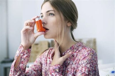 Illustration of Asthma Suddenly Recurs To Make It Difficult To Sleep?