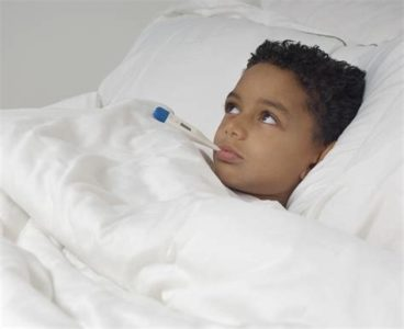 Illustration of Child Has Difficulty Urinating After 1 Week Of Fever?