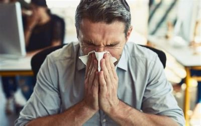 Illustration of Nose And Ears Like Stuffy When You Have A Cold?
