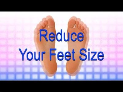 Illustration of How To Reduce Foot Size?