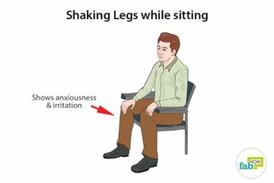 Illustration of Legs Shaking Like An Earthquake When Standing?