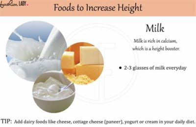 Illustration of Consumption Of Milk To Increase Height And Weight At The Same Time?