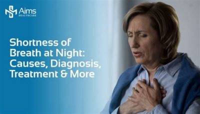 Illustration of Shortness Of Breath At Night And When Emotional?