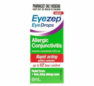 Illustration of Treatment Of Conjunctivitis With Eye Drops?