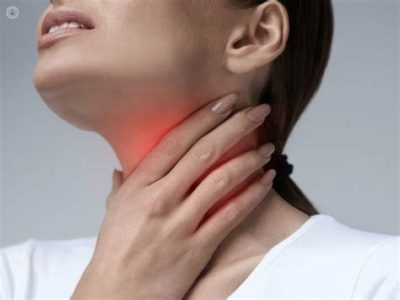 Illustration of Sore Throat Often Accompanied By Painful Swallowing And Shortness Of Breath?