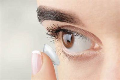 Illustration of Calculate The Appropriate Minus For Wearing Contact Lenses?