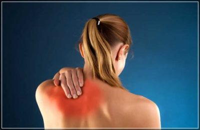 Illustration of Pain In The Shoulder Blade After Impact?