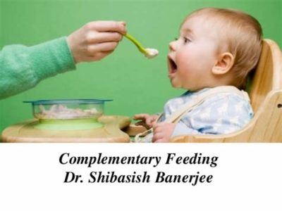 Illustration of Regarding Early Complementary Feeding?
