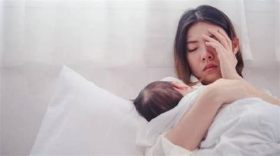 Illustration of Overcoming Depression After Giving Birth?