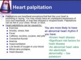 What Is The Cure For Heart Palpitations Dizziness, Nausea And Sweating?